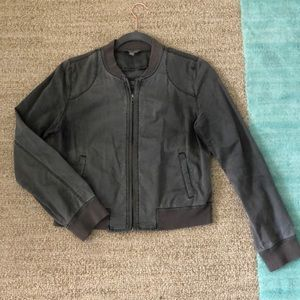 Rubbish thin bomber jacket